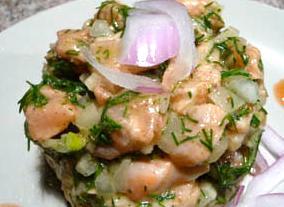 Citrus Salmon Ceviche