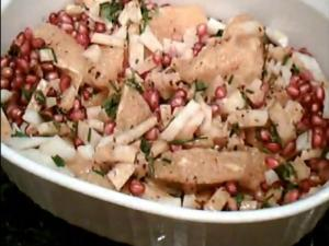 Citrus Salad with Jicama and Pomegranate