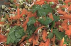 Moong And Carrot Salad