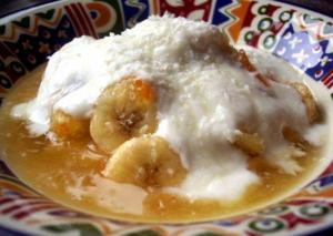 Banana Coconut Betty