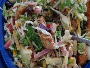 Southwestern Chef Salad with Chipotle Chicken