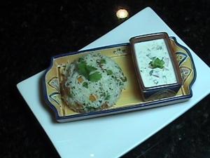 Tricolor Jeera Rice