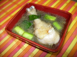 Twice Cooked Filipino Style Chicken