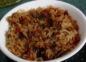 2 Rice Meals - Cuban Rice With Beans & Biryani