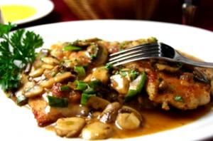 Veal Marsala With Risotto