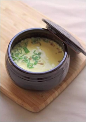 Korean Steamed Eggs