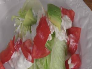 Blue Cheese Tomato Wedge Salad