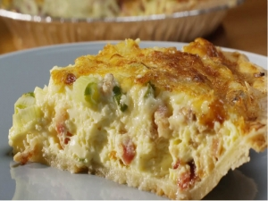 Bacon´n Cheddar Breakfast Pie