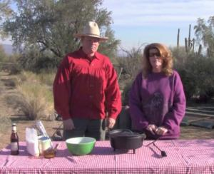 "The Chi Channel.tv Show.""Chi -Licious Cooking"" Dutch Oven Peach Cobbler"