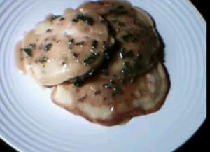 Sausage And Mushroom Pancakes