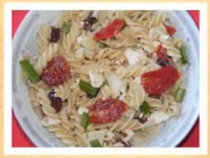 "Antipasto Pasta on ""Simply Delicious Living with Maryann"""
