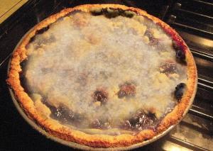 Blueberry-Banana Pie