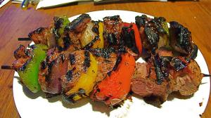 Festive Lamb Kebabs