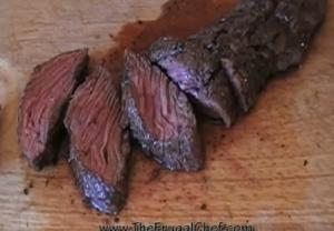Savory Pan Seared Flank Steak