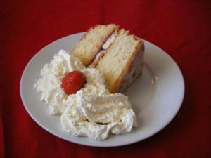 Hot Gingerbread With Whipped Cream