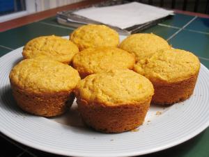 Morning Glory Corn Muffins