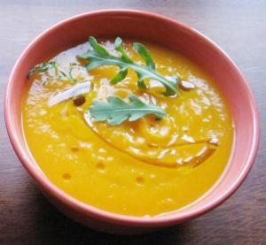 Sweet Hot Pumpkin Soup