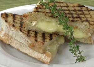Panini with Brie and Apricot