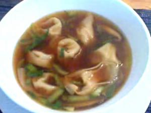 Pork Filled Wonton Soup