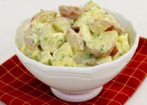 Potato And Herring Salad