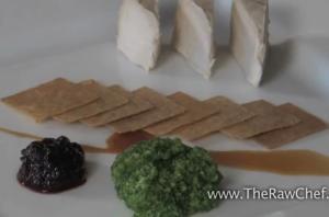 Plating Raw Cheese