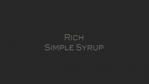 Tips To Make Perfect Simple Syrup