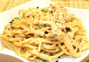 Carbonara Pinoy Style Part 2 - Preparing The Dish