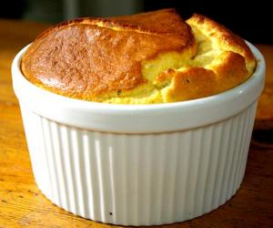 Onion And Cheese Souffle