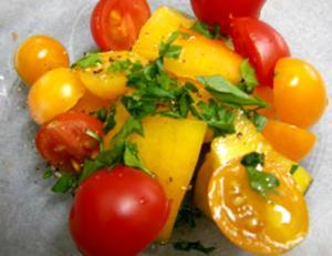 Wine Glazed Tomatoes