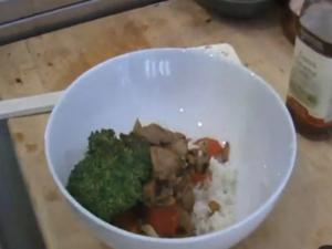 Tamra Davis Cooking Show - Kung Pao Un-Chicken