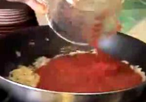 Italian Spaghetti with Red Sauce Part 1 - Red Sauce