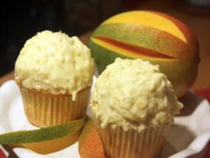 Mango Coconut Cupcakes (Part 2): Cupcake Show #28