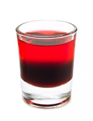 Jello Cocktail Shot