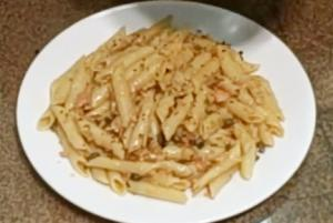 Pasta Al Salmone Affumicato