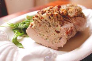 Stuffed Loin Of Pork