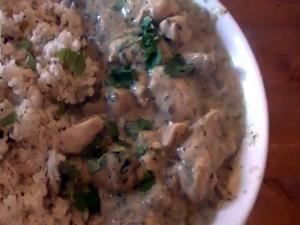 Basic Green Thai Chicken Curry with Coconut Rice Recipe - MYVIRGINKITCHEN
