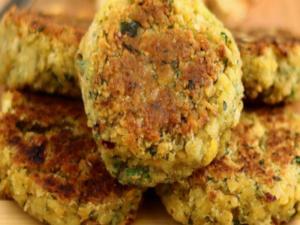 Pan Fried Falafels