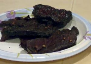 Smoked Teriyaki Style Beef Jerky