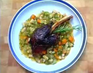 Greek Style Slow Roasted Lamb Shanks