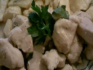The Greek Cook:Garlic Chicken