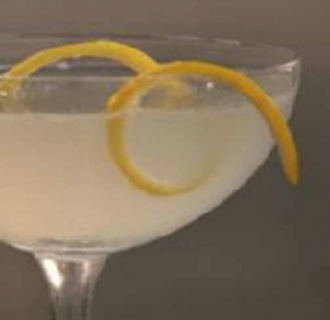 Lemon Drop Cocktail With Citron Vodka