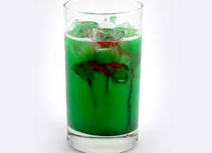 Cinnamon Flavored Dead Frog Cocktail