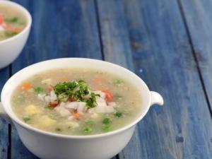 Jowar And Vegetable Porridge By Tarla Dalal