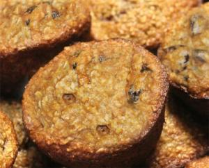 Fruity Oatmeal Muffins