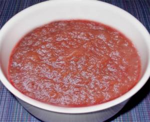 Easy Strawberry And Apple Sauce