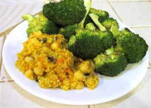 Millet With Broccoli