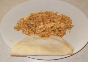 Shredded Dry Beef with Scrambled Eggs