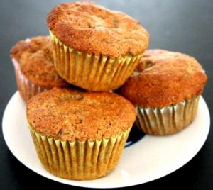 Easy Peanut Butter Muffins
