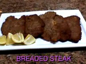 Fried Breaded Steak