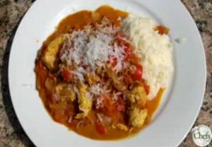 Curried Chicken and Tomato Stew